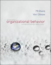 NEW Organizational Behavior 7E Mcshane Von Glinow 7th Edition