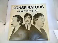 CONSPIRATORS CAUGHT IN THE ACT ZERO ZER19028 SIGNED COPY LP VINY