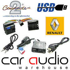 Connects2 CTARNUSB005 Renault Scenic 2009 Onward USB SD AUX IN Interface Adaptor