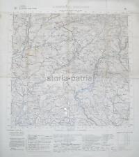 CARTOGRAFIA D'EPOCA_S. PIETRO AL NATISONE_ISONZO_S. MARTINO QUISCA_GRIMACCO_1929