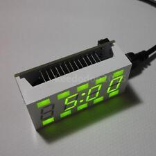 New 4-digit DIY Digital LED Clock Kit White Desktop Electronic Mini-Clock 58CE