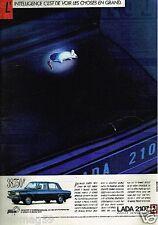 Publicité advertising 1986 Lada 2107