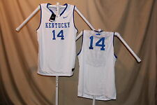 KENTUCKY WILDCATS  sewn #14  Nike Elite BASKETBALL JERSEY  2XL   NwT $75 retail