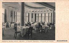 # MILANO: MAJESTIC HOTEL DIANA di E. Zammaretti -RISTORANTE SUL GIARDINO