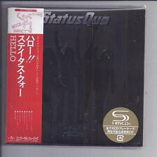 STATUS QUO Hello !  Deluxe  2 cd set 2 covers JAPAN mini lp cd SHM UICY-77629/30