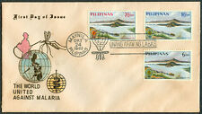 1962 Philippines THE WORLD UNITED AGAINST MALARIA First Day Cover - B