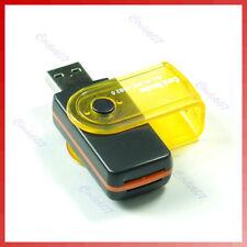 Multi Memoria Lector de tarjetas de alta velocidad USB 2.0 Pc Adaptador Para Mp3 Mp4 teléfono móvil