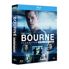 Blu-ray *** BOURNE Collection (Digibook) (4 Blu-ray) *** sigillato