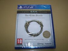 The Elder Scrolls Online Tamriel Unlimited  Crown & Explorers PS4 *New Sealed*
