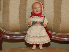 Swedish Dressed Celluloid Doll 10 in