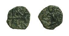 pcc1586_27) Messina RUGGERO II (1105-1154) Mezzo Follaro con il Re seduto SP 77