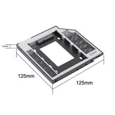 "2nd 9.5mm SATA HDD SSD Hard Drive Caddy Bay for MacBook Pro 13"" 15"" 17"" New F7T"