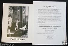 PATRIZIO BUANNE 'THE ITALIAN' 2005 PRESS KIT--PHOTO