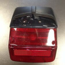 Rear light / tail lamp lens with black top for Vespa Sprint / Rally