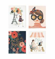 Rifle Paper Co. Parisian Foil Assorted Greeting Cards - Blank