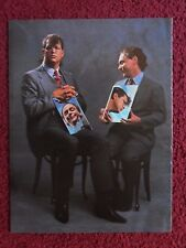 1987 Full Photo Page Celebrity Magazine Clipping ~ Penn & Teller Magicians Magic