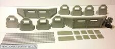 HC3D - Defensive Line with Bits - Wargames - Terrain - Scenery