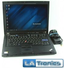 "IBM Lenovo ThinkPad T400 14.1"" Intel Core 2 Duo P8600 2GB 320GB Hard Drive Win 7"