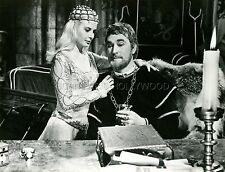 JEAN WALLACE  BRIAN AHERNE LANCELOT AND GUINEVERE 1963  PHOTO ORIGINAL #3