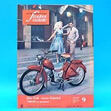 Der Deutsche Straßenverkehr 9/1959 DDR Tschaika Avus Arabella Lloyd Vogtland B