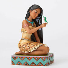 Disney Traditions Jim Shore Pocahontas with Bird Flit Free and Fierce Figurine