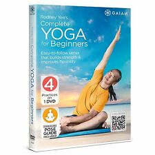 RODNEY YEE : COMPLETE YOGA FOR BEGINNERS -  DVD - Region 2 UK Compatible