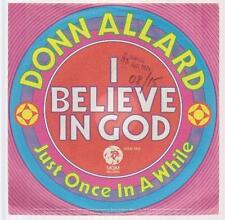 """7"""" Donn Allard I Believe In Gold / Just Once In A While 70`s MGM Records"""