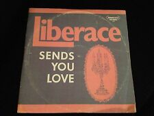 "LIBERACE ""SENDS YOU LOVE"" RARE OOP 3xLP VG COVER/VG+ VINYL! HTF ALBUM GLOSSY LPs"