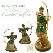 Royal Worcester Limited Edition Robin Hood Candle Snuffer Exclusive to Us!