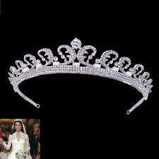 Replica Kate & William Royal Rhinestone Crystal Wedding Hair Crown Tiara E407