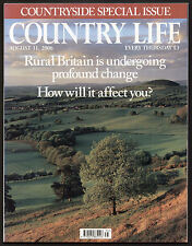 Country Life Aug 2006 COUNTRYSIDE REPORT COUNTRY HOUSES CHURCHES LOCAL PRODUCE