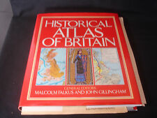 HISTORICAL ATLAS OF BRITAIN Maps Malcolm Falkus W/CD 1st Royal Welsch Fusiliers