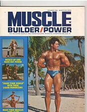 MUSCLE BUILDER bodybuilding magazine/DON PETERS/Arnold Schwarzenegger 11-69