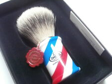 Top rasierpinsel Omega tetto Best tetto Badger Shaving Brush Barber Pole!!!
