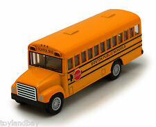 School Bus Boston City Schools 5 inch Opening Door 1:64 Scale Diecast New