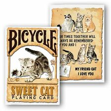 Bicycle - Sweet Cat Playing Cards Poker Spielkarten
