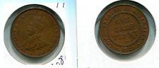 Australia 1929 Half Penny Coin Au 6208G