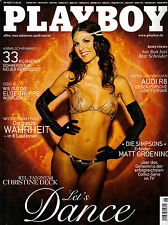 Playboy August/08/2007  RTL-Tanzstar CHRISTINE DECK