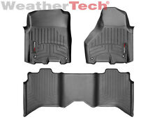 WeatherTech FloorLiner for Dodge Ram 1500 - Crew Cab - 2012-2017 - Black