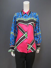 KENZO (ANTONIO MARRAS era) 100 % silk shirt NEW with TAG size 42 french