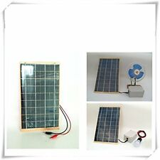 ECO-WORTHY 10 Watt 12 V Solar Panel Module Garden Fountain Pond Battery Charger