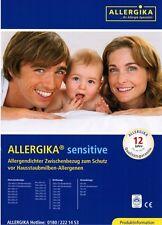 Allergika Sensitive Deckenbezug 130x190cm Milben Bettwäsche Allergiker Encasing
