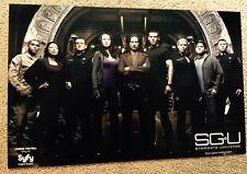 """SG-U Stargate Universe promo POSTER Comic Con NEW 11"""" X 17"""" SyFy"""