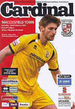 2013/14 WOKING V MACCLESFIELD TOWN 22-02-2014 Skrill Premier (Mint)