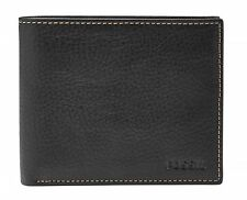 FOSSIL Purse Lincoln Large Coin Pocket Bifold Black