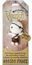 "Watchover VOODOO DOLL Keychain, Voodoo PIRATE, Travel Safely, 2.5"" Tall"