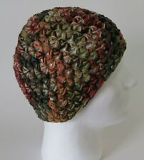 crochet zac brown band style hat camo beanie cap hunting redneck camouflage mens