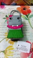 Bath & Body Works Pocketbac Holder Hippo Hawaiian Hula Girl Hand Sanitizer