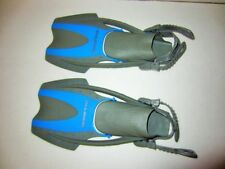 US Divers Swim Snorkel fins YOUTH SIZE 1-3 flexible fin open back boot child kid