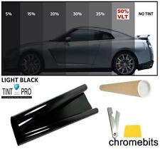PROFESSIONAL ANTI-SCRATCH CAR WINDOW TINT FILM LIGHT BLACK SMOKE 50% 76cm x 3M